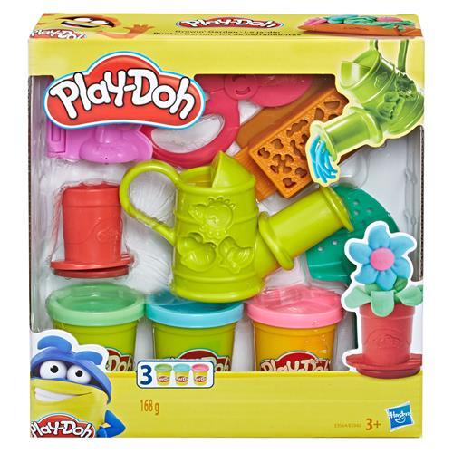Conjunto Play Doh Kit de Jardinagem Hasbro E3564