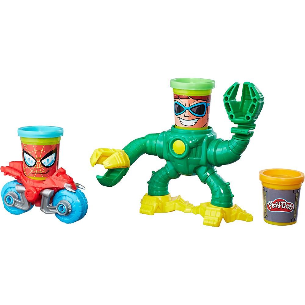 Conjunto Play-Doh Spiderman Vs Doc Ock - Hasbro B9364