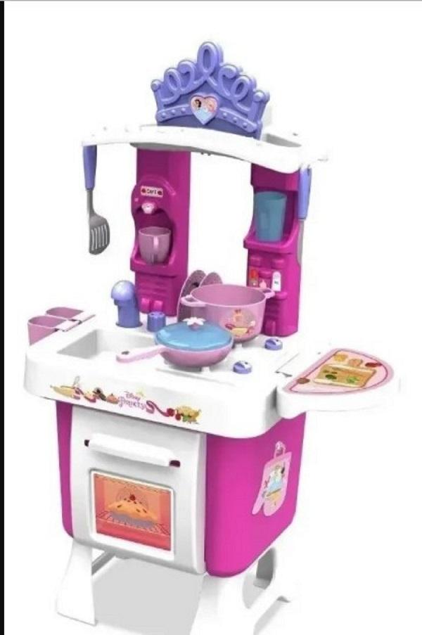 Cozinha Fantástica Fogão e Pia princesas - Xalingo 19454