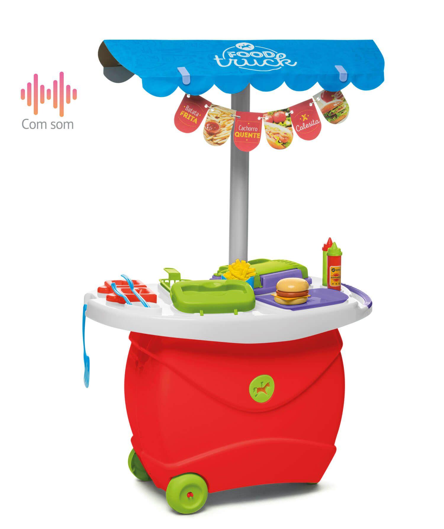 Cozinha Infantil Food Truck Colorida - TA TE TI 353