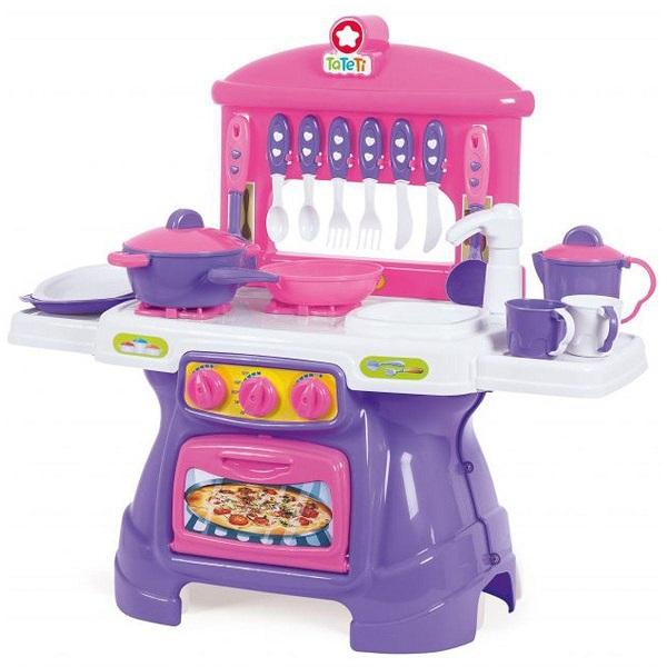 Cozinha Mini Chef Rosa com Água - TaTeTi 0317