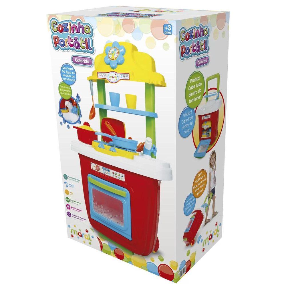 Cozinha Portatil - Colorida 1019