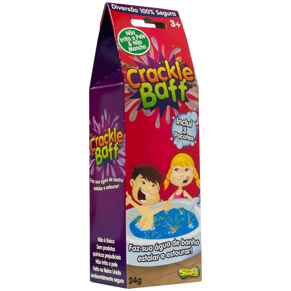 Crackle Baff faz Água de Banho Estalar e Estourar 1980 Sunny