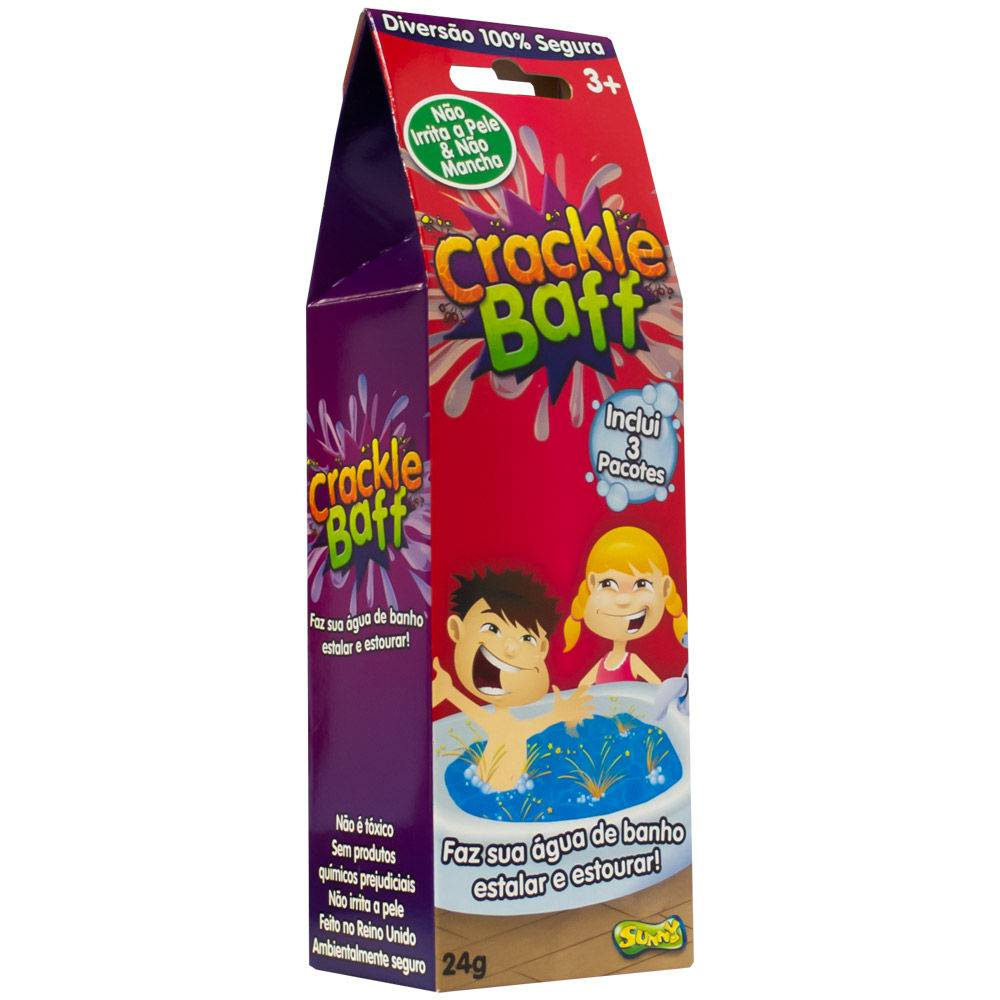 Crackle Baff  Faz sua Água de Banho Estalar e Estourar 1980 - Sunny