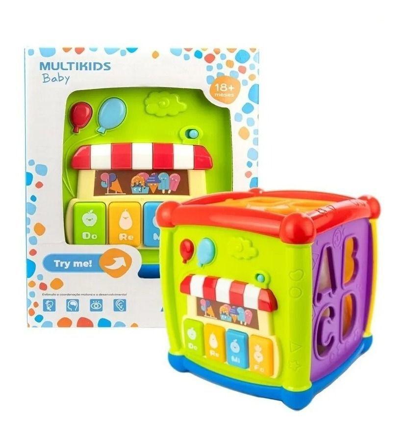 Cubo de Atividades - Multikids Baby Br1241