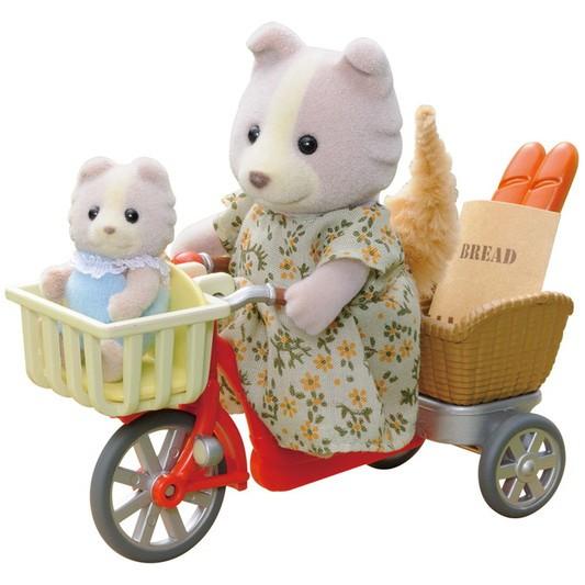 De Bicicleta com a Mamãe Sylvanian Families - Epoch 4281