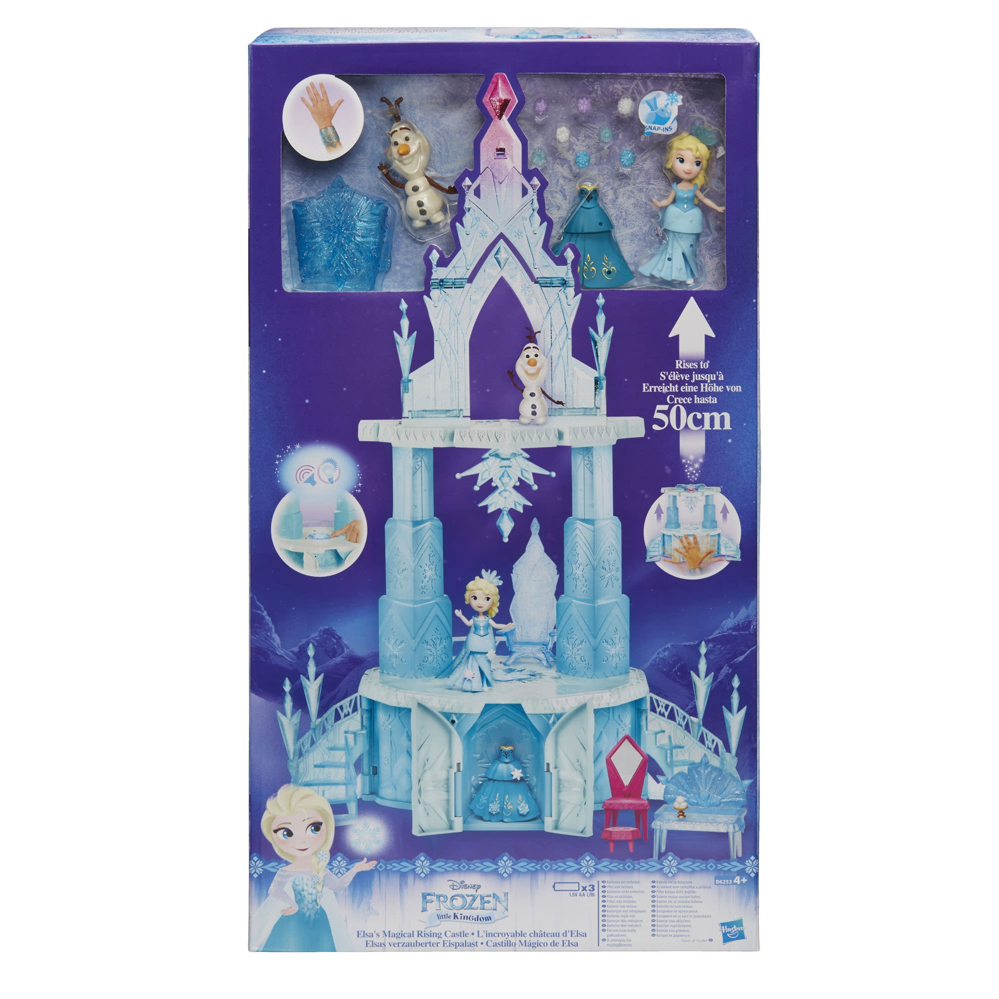 Disney Castelo da Elsa com Figura Playset - Hasbro B6253