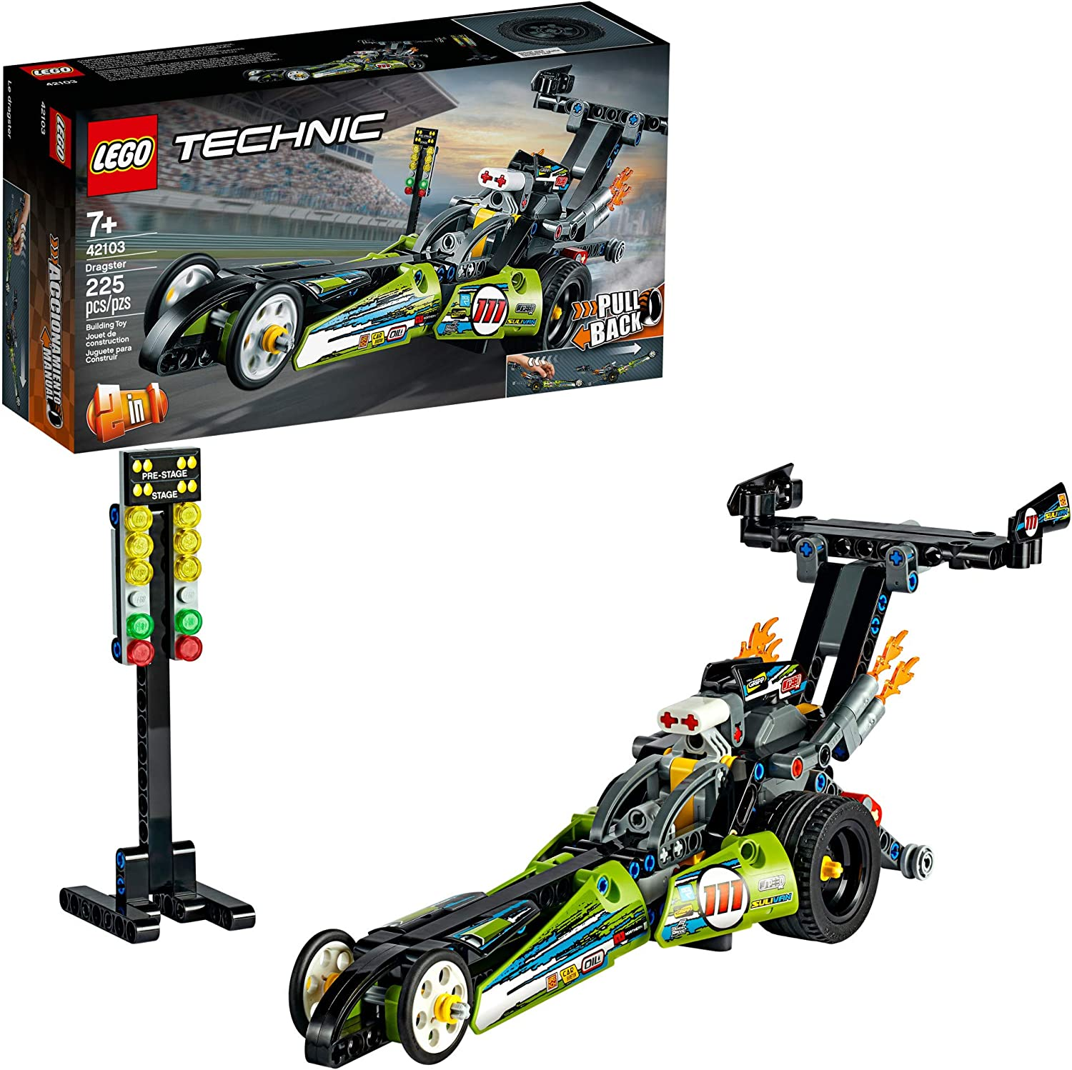 Dragster - Lego 42103