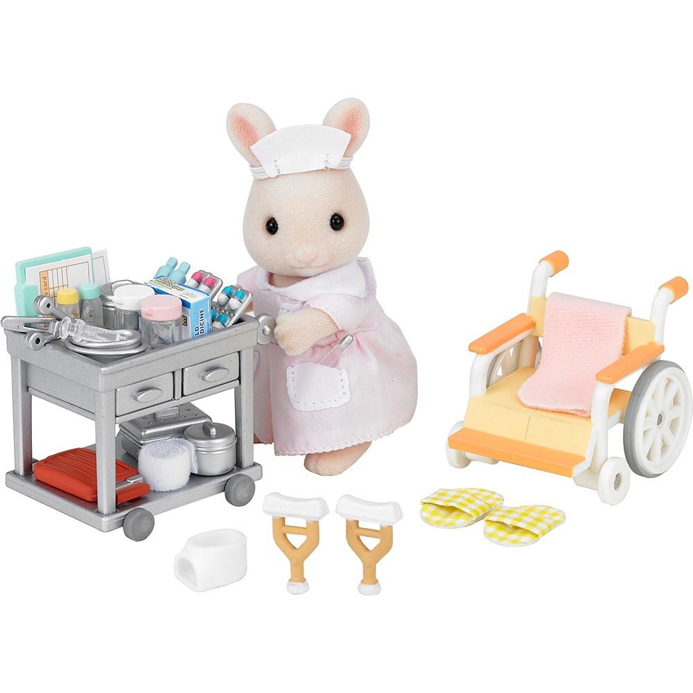 Enfermeira do Campo Sylvanian Families - Epoch 5094