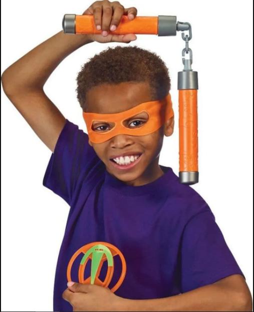 Equipamento Tartarugas Ninjas Michelangelo - Sunny 2044