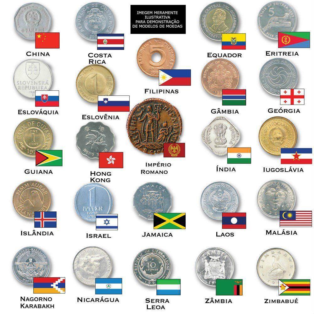 Escava Prêmio Moedas do Mundo 5003 - DTC