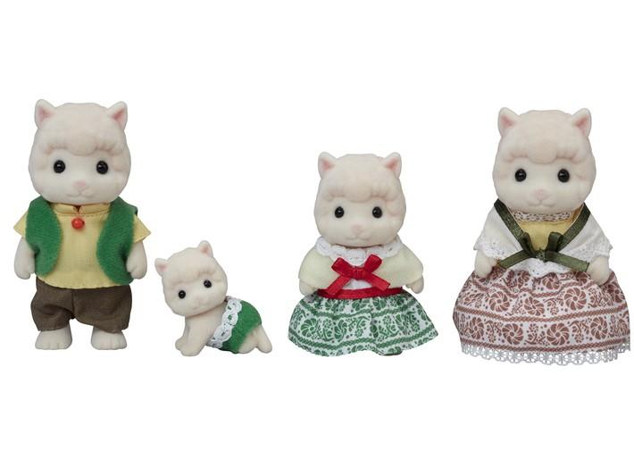 Família das Alpacas Sylvanian Families - Epoch 5358