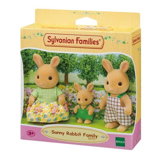 Família dos Coelhos Raio de Sol Sylvanian Families - Epoch 5372