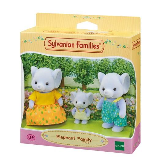Família dos Elefantes Sylvanian Families - Epoch 5376