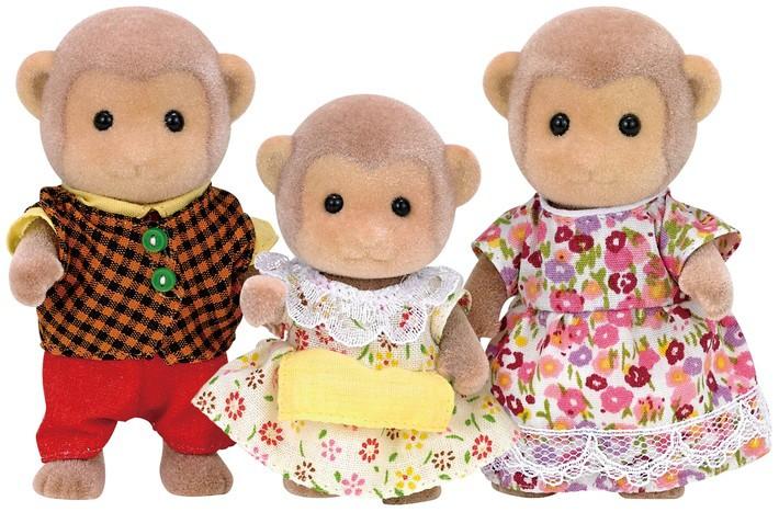 Família dos Macacos Sylvanian Families - Epoch 5214