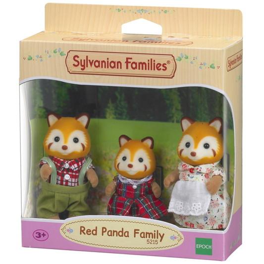 Família dos Pandas-Vermelhos Sylvanian Families - Epoch 5215