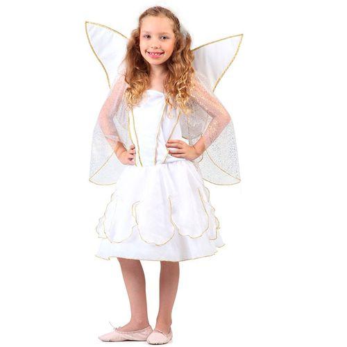 Fantasia Anjo Infantil Com Asas E Tiara M 23684 - Sulamericana