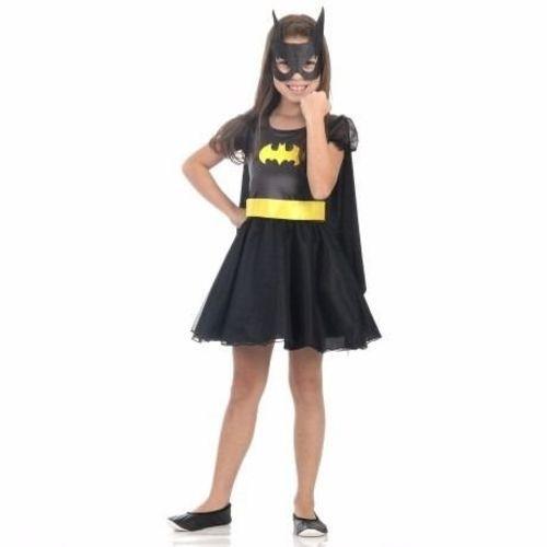 Fantasia Bat Girl Princesa Luxo M 922107 - Sulamerica