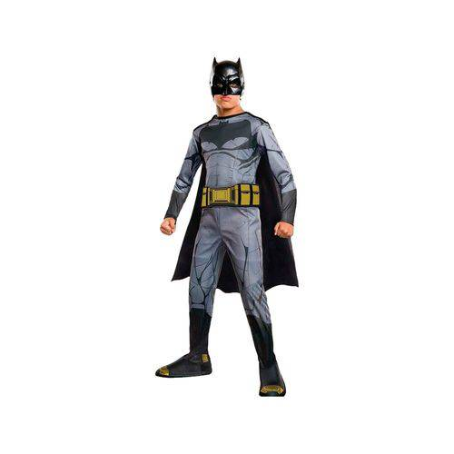 Fantasia Batman Clássica Longa Tam M 1109472 - Regina