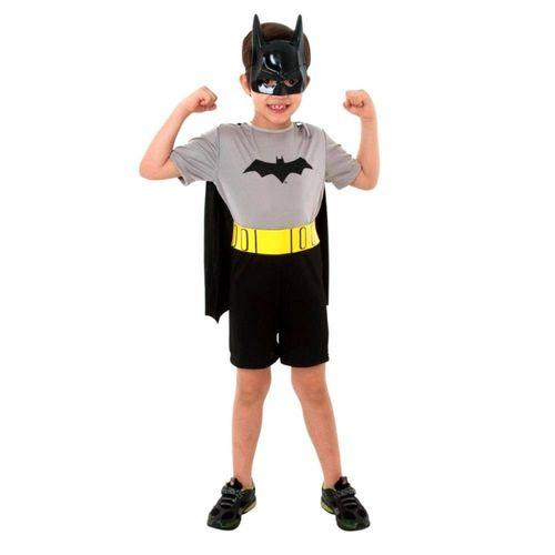 Fantasia Batman Curto M 10170 - Sulamericana
