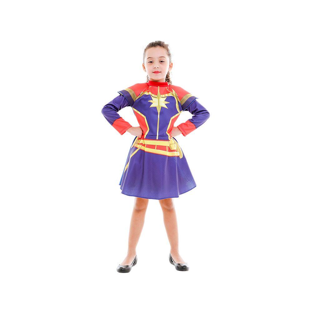 Fantasia Capita Marvel Clássica M - Regina