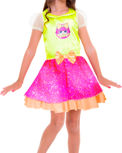 Fantasia Clássica Lol Glitter Queen G 113396.9 - Regina