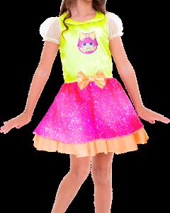 Fantasia Clássica Lol Glitter Queen P 113394.2 - Regina
