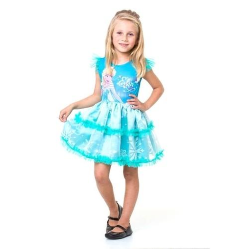 Fantasia Infantil Frozen Elsa Pop M - Regina 1301