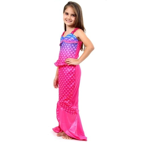 Fantasia Infantil Sereia Rosa M 935725 - Sulamericana