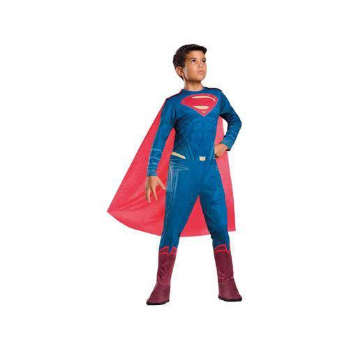 Fantasia Super Homem Clássica Longa Tam P 11095 - Regina