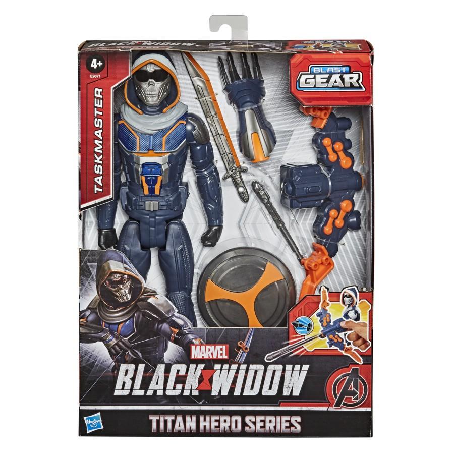Figura Articulada Marvel Black Widow Taskmaster - Hasbro E9671