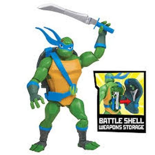 Figura As Tartarugas Ninjas Leonardo batalha 2040 Sunny