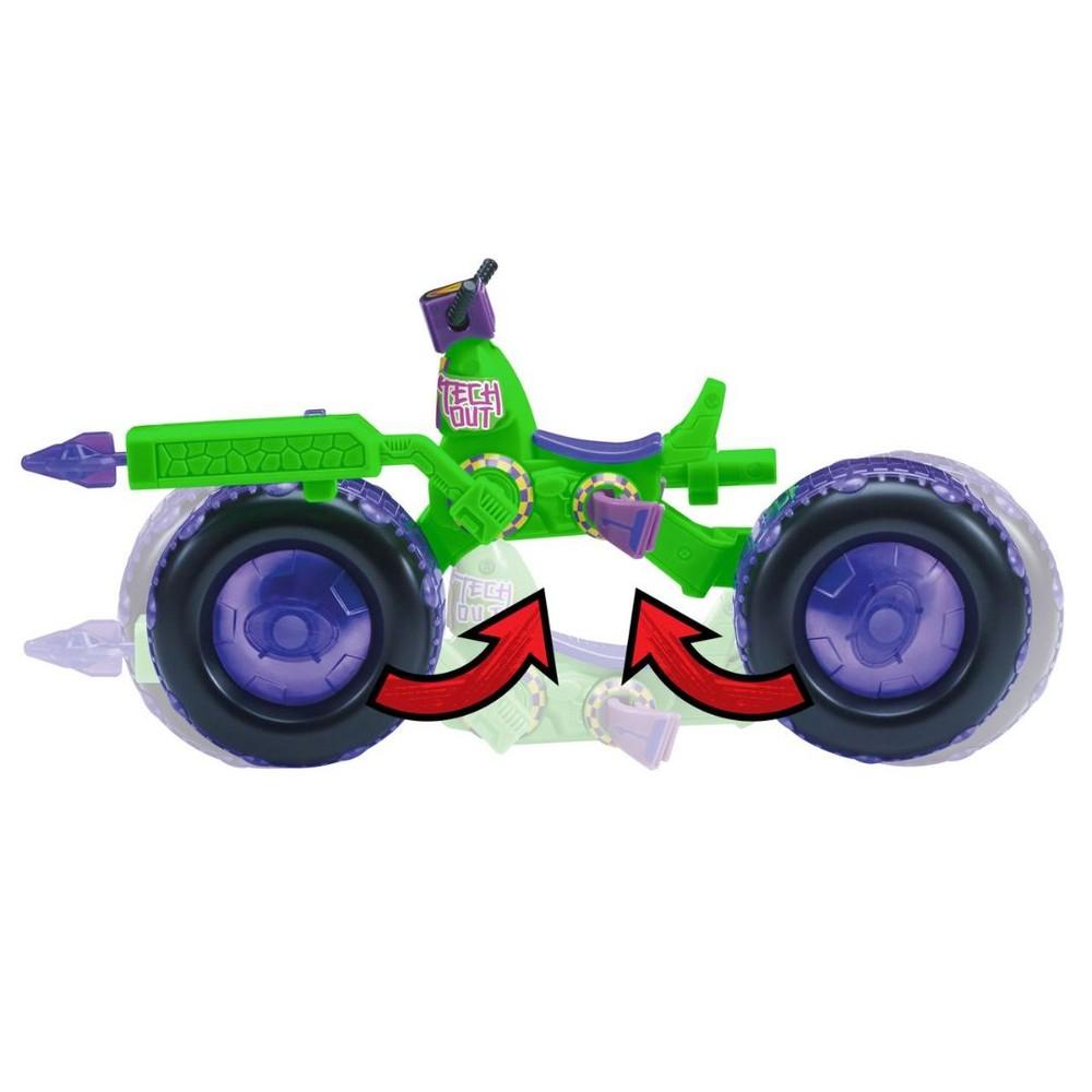 Figura Com Veiculo Tartarugas Ninjas Donatello 2043 Sunny