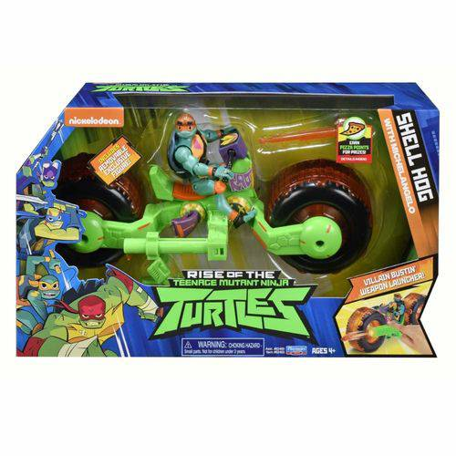 Figura Com Veiculo Tartarugas Ninjas Michelangelo 2043 Sunny