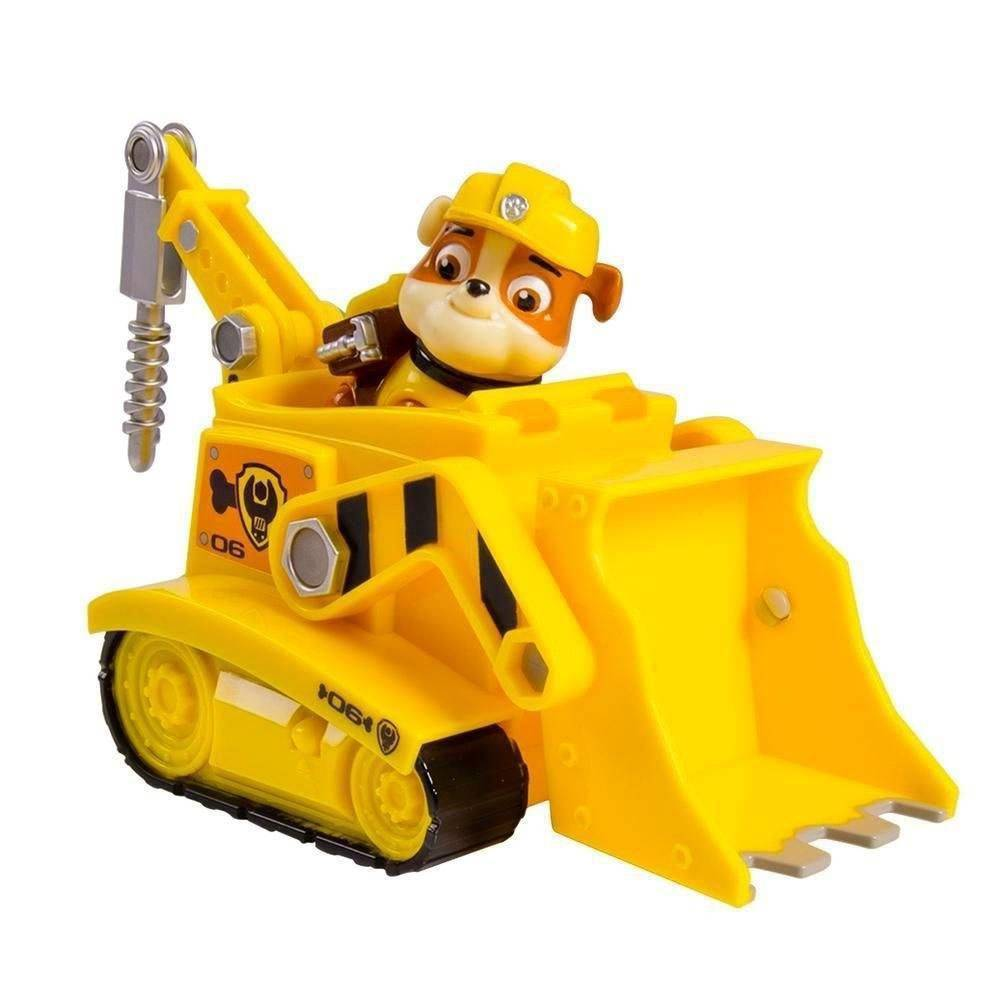 Figura e Veículo Patrulha Canina Rubble Diggin Bulldozer - Sunny 1389
