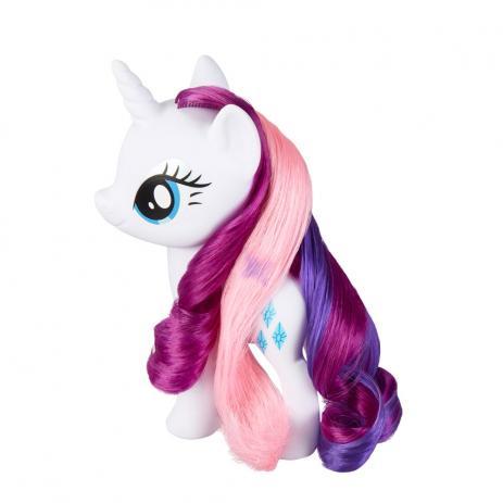 Figura My Little Pony Salão Mágico Rarity  Hasbro E3765/E3489