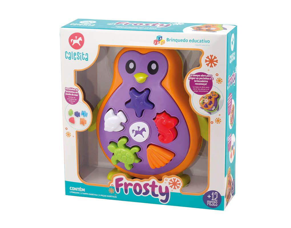 Frosty Pinguim Didático 0865 - Calesita