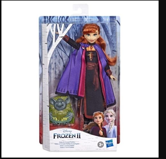 Frozen II Anna e Vovô Pabbie - Hasbro E8751