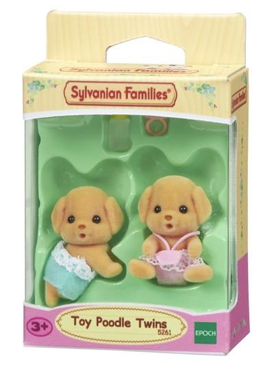 Gêmeos Poodle Toy Sylvanian Families - Epoch 5261