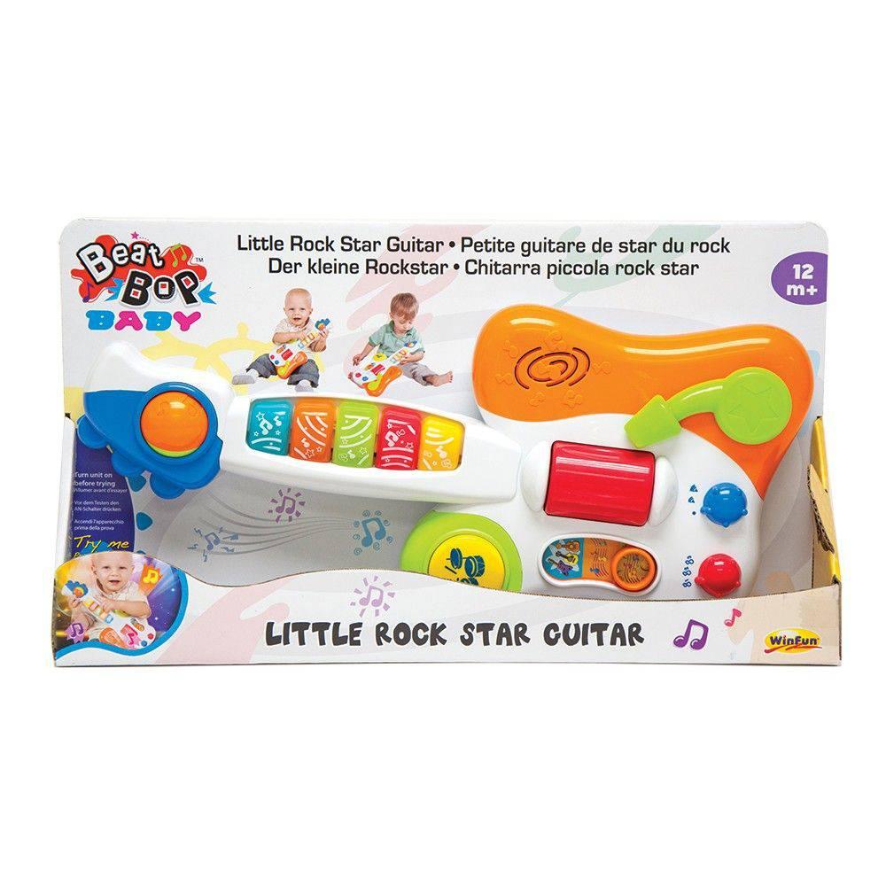 Guitarra Baby Estrela Do Rock 2000 - Yes Toys