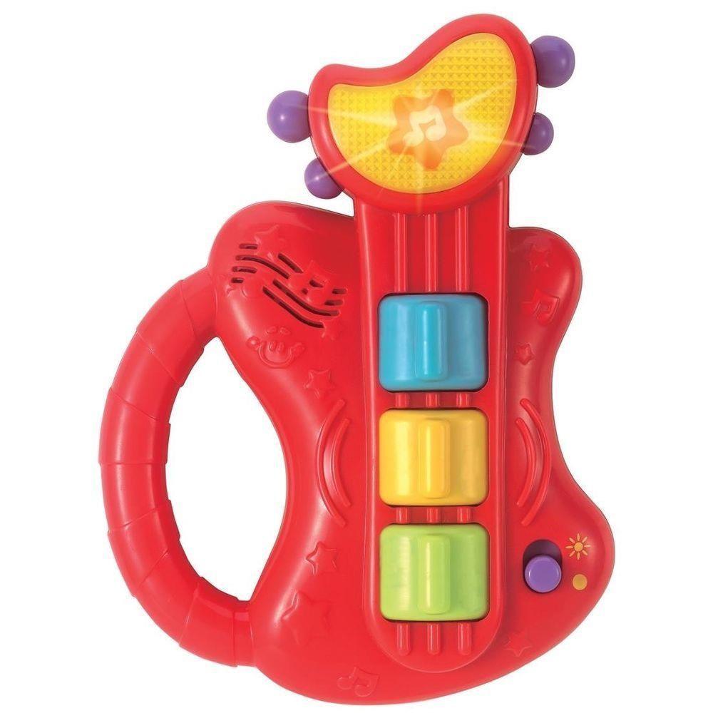 Guitarra com Som e Luzes Musico Bebe 0641 - WinFun