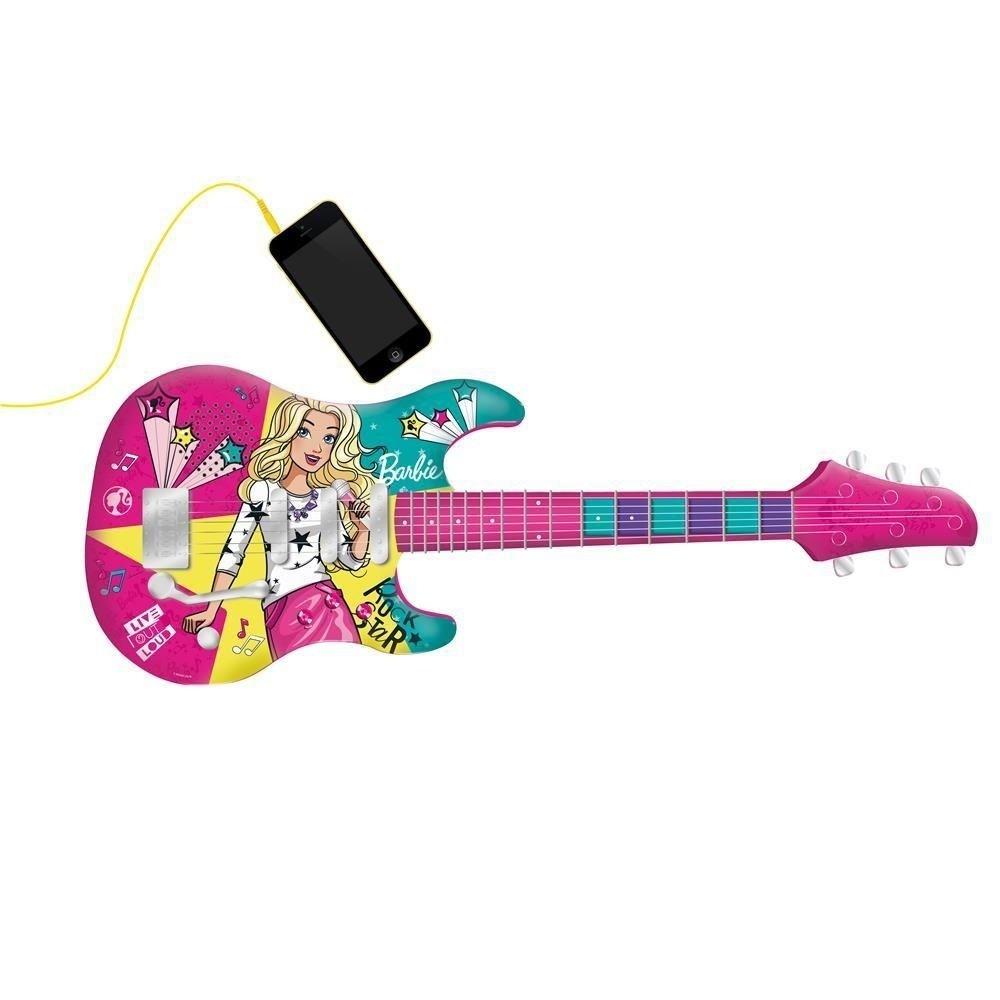 Guitarra Fabulosa Barbie com Função Mp3 Player - Fun F00045