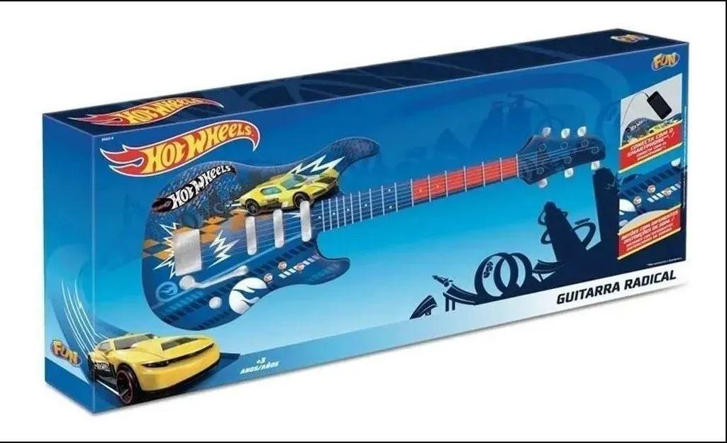 Guitarra Infantil Hot Wheels - Fun F00036