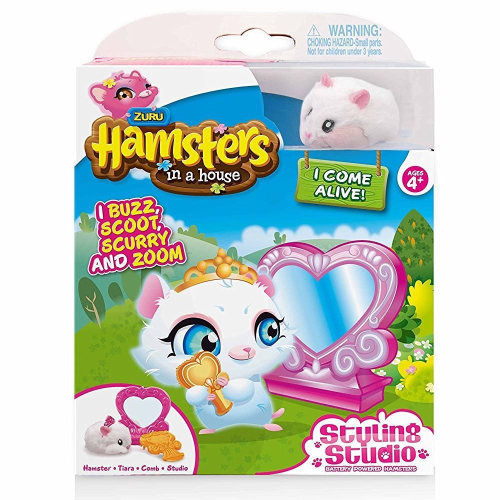 Hamster c/ Acessório In a House Estúdio de Beleza Snowflak 7701