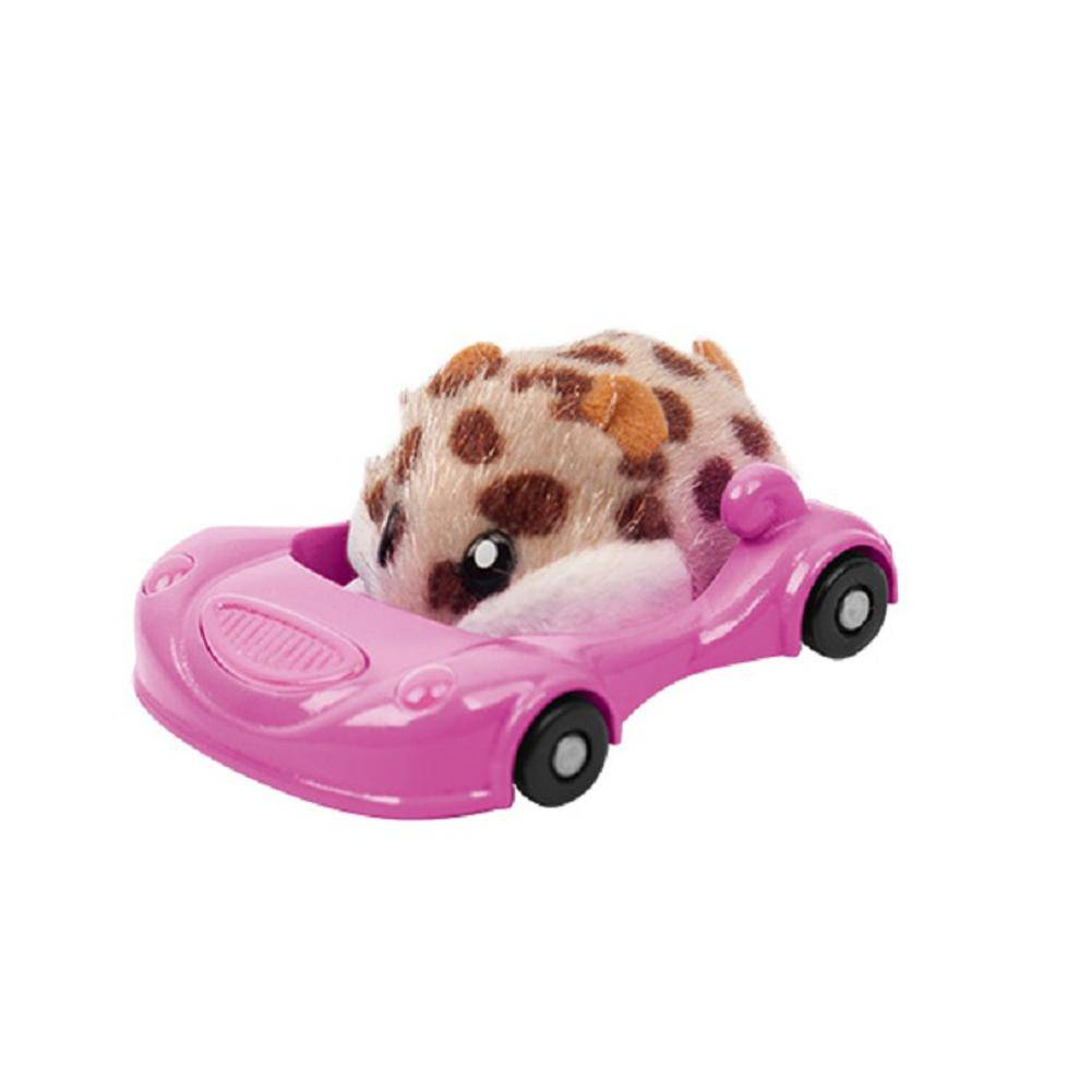 Hamster Com Veículo In A House Super Acelera Candide 7701
