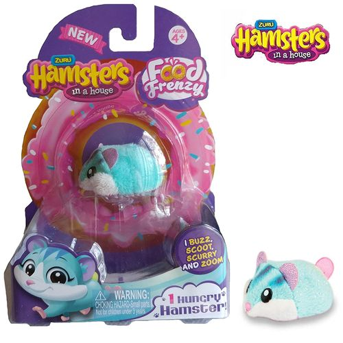 Hamster in a House Single Pack Série 2 Scoops - Candide 7707