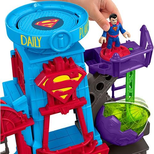 Imaginext Metropolis Super Homem DC - Mattel DTP30