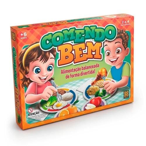 Jogo De Tabuleiro Educativo Comendo Bem - Grow 3560