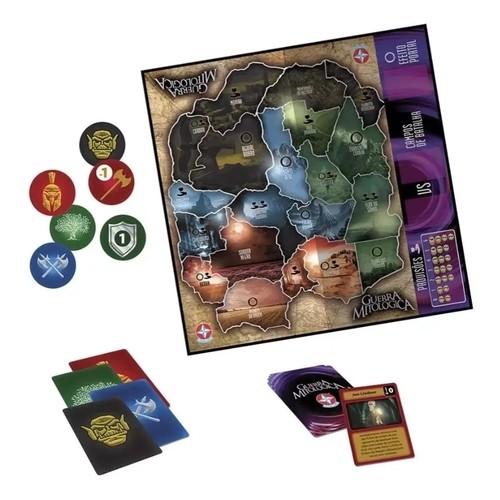 Jogo De Tabuleiro Guerra Mitologica - Estrela