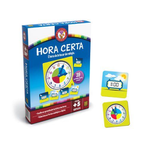 Jogo De Tabuleiro Hora Certa - Grow 3183
